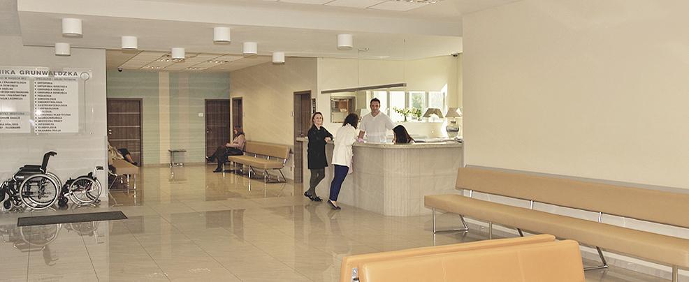 Rejestracja w Klinice Grunwaldzkiej